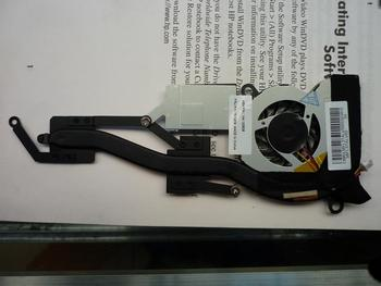 Laptop CPU fan & heatsink grupės LENOVO ThinkPad X100 X100E FRU 75Y5929 48668