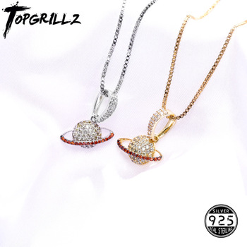 TOPGRILLZ 925 Sterling Silver Planet